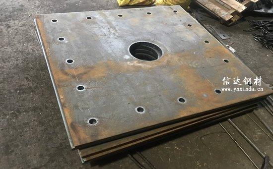 20厚钢板切割加工